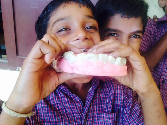 Check your teeth!